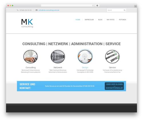 WordPress theme Kage - mk-consulting-ulm.de