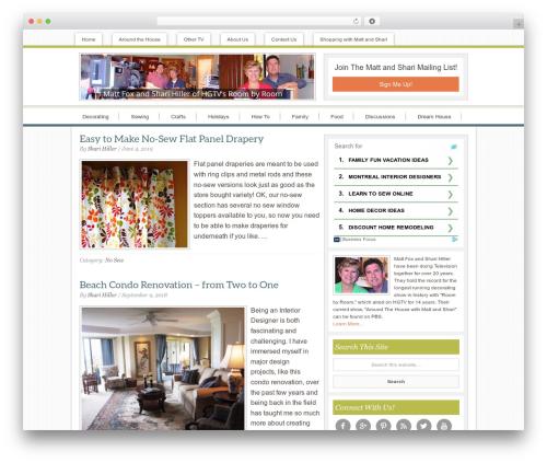Best WordPress template Innovative Child Theme - mattandshari.com