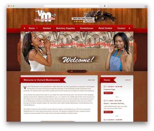 Bordeaux Premium Theme WordPress theme - meatmaster.co.za/home