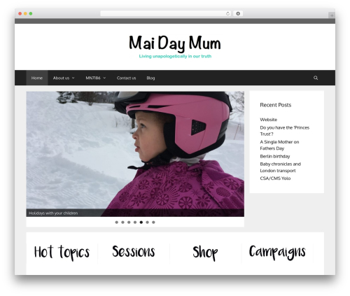 Free WordPress Image in Widget plugin - maidaymum.co.uk