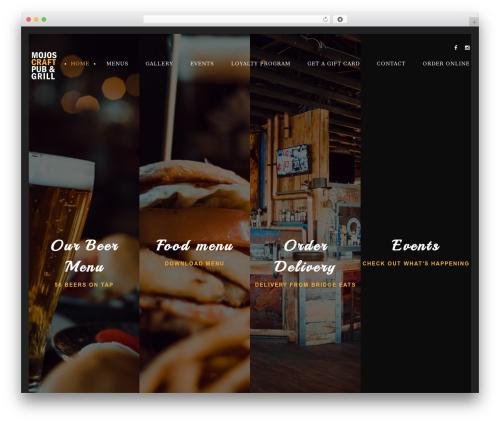Lambert WordPress theme - mojospub.ca