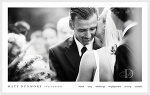Matt Dunmore Photography WordPress photo theme