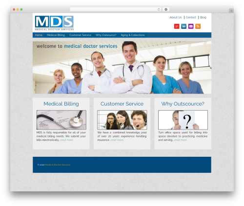 Responsive WordPress theme free download - medicaldoctorservices.com