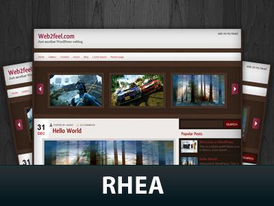 Rhea theme WordPress