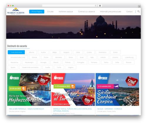 Smart7 theme WordPress - marion-turism.ro