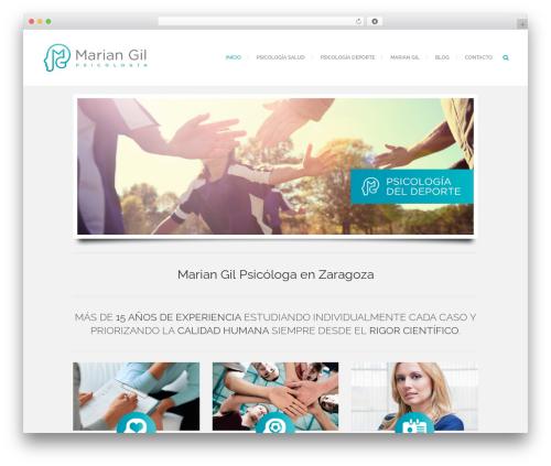 Theme WordPress Bridge - mariangilpsicologia.com