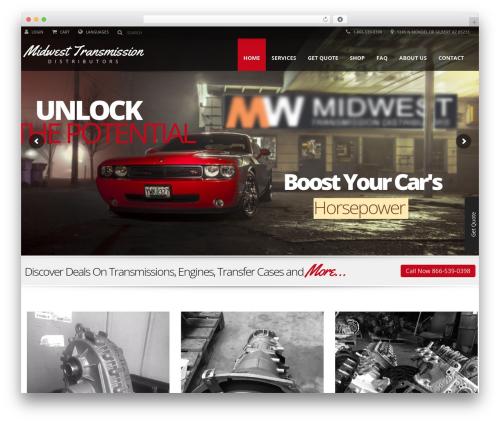 Automotive top WordPress theme - mwdauto.com