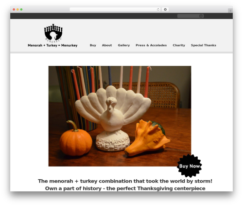 Clearly Modern WordPress theme - menurkey.com