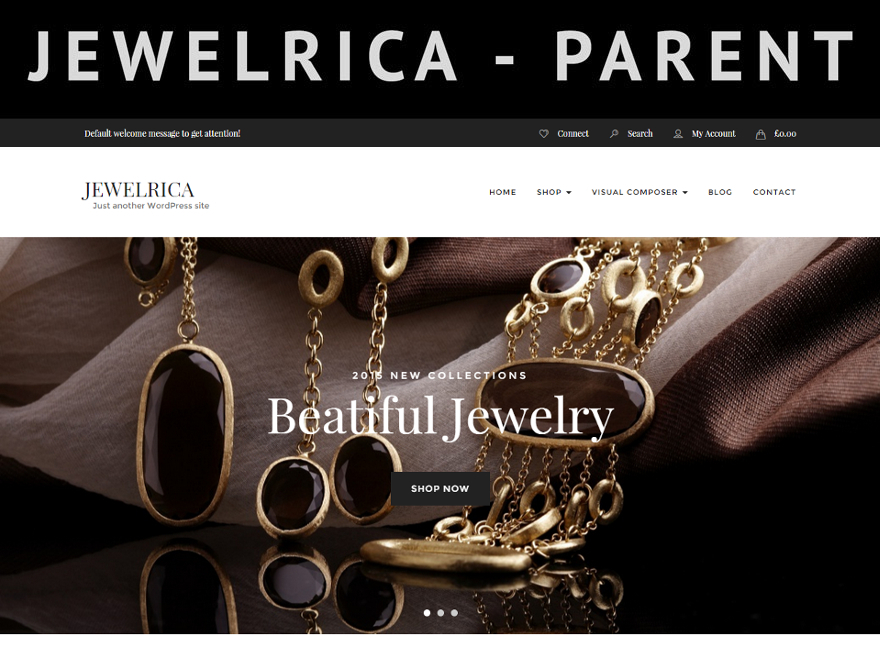Jewelrica WP WordPress shop theme