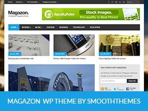 Magazon WordPress news theme