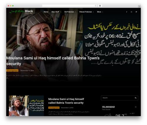 Theme WordPress Newspaper - youngpakistan.org