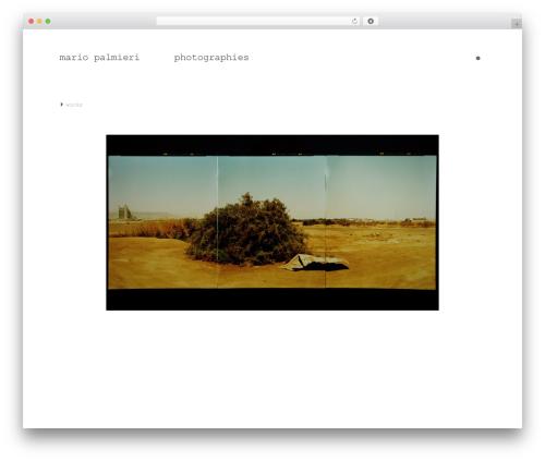 Free WordPress Nice Navigation plugin - mariopalmieri.com