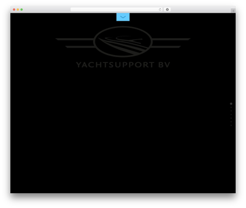 WordPress template Themify Fullpane - yachtsupportbv.nl