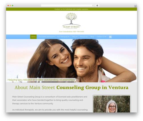 Altra Blueprint theme WordPress - mainstreetcounselinggroup.com