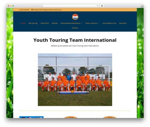Divi WordPress theme - youthtouringteaminternational.com