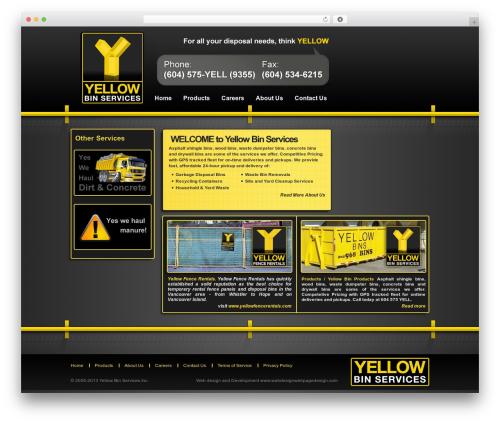 Gantry Theme for WordPress template WordPress - yellowbinservices.com