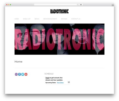 Lifestyle free WP theme - radiotronic.net