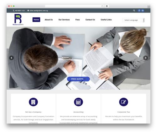 The7 best WordPress template - rbms.com.sg