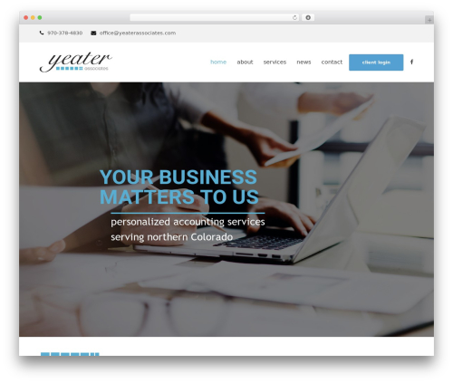 Theme WordPress Total - yeaterassociates.com