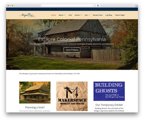Free WordPress All-in-One Event Calendar plugin - morganloghouse.org