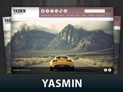 Yasmin WordPress template