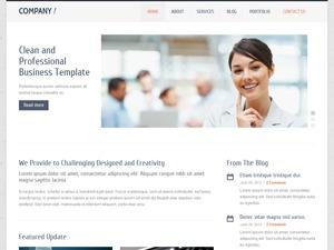 Company company WordPress theme
