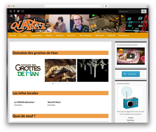 Free WordPress Livemesh Addons for Elementor plugin - radioquartz.be