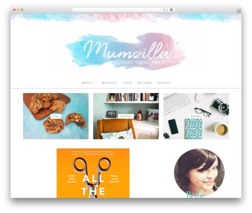 Hallie - Premium WP template - mumzilla.co.uk