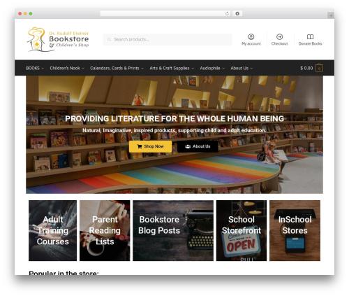Shoptimizer WordPress shop theme - rudolfsteinerbookstore.com