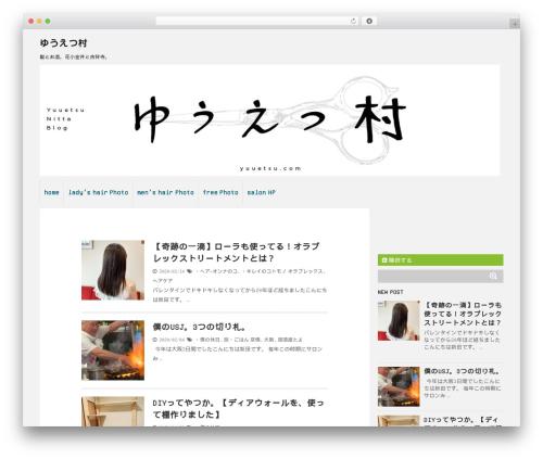 Theme WordPress Stinger 5 Child Theme - yuuetsu.com