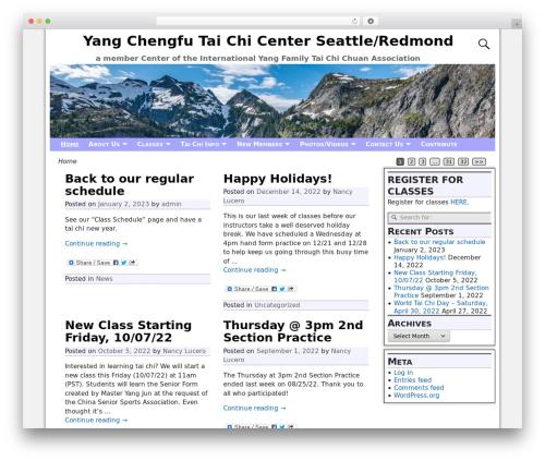 Free WordPress Shashin plugin - yangtaichiseattle.com