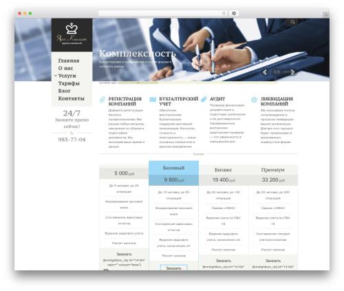 Adept style template WordPress - yaros-consult.ru