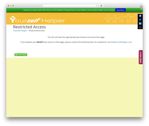 Free WordPress Slick Sitemap plugin - yourselfhelper.com
