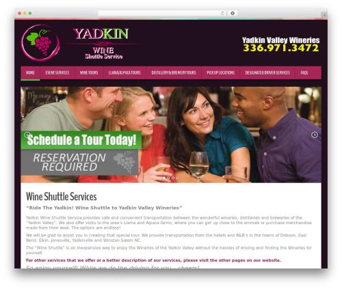 Free WordPress WP Site Mapping plugin - yadkinwineshuttle.com
