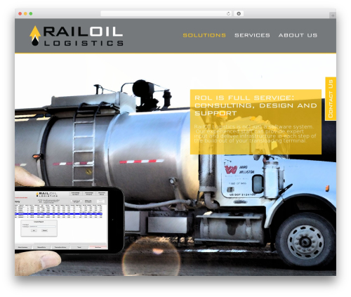 Encore top WordPress theme - railoil.com