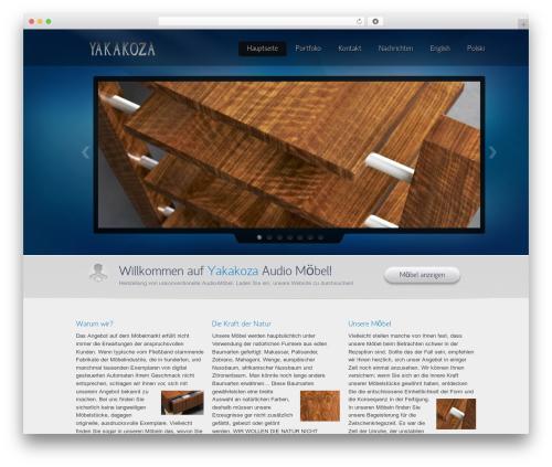 Envision Child theme WordPress - yakakoza.eu