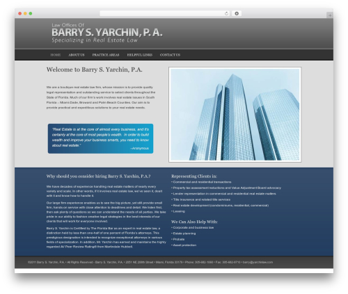 Executive Child Theme best real estate website - yarchinlaw.com