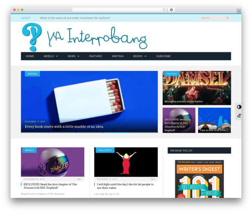 Free WordPress SlickQuiz plugin - yainterrobang.com