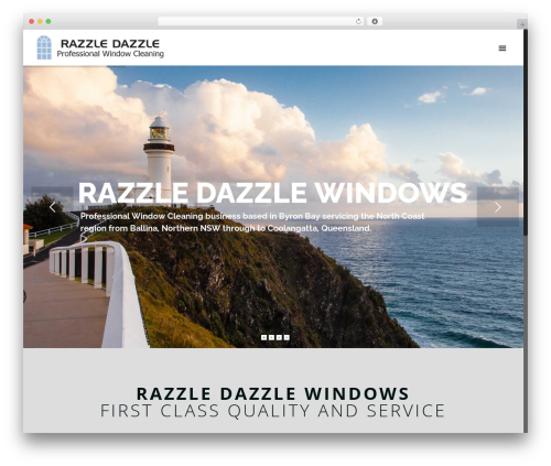 WordPress template Betheme - razzledazzlewindows.biz