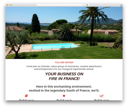 WordPress layered-popups plugin - yourbusinessonfireinfrance.com