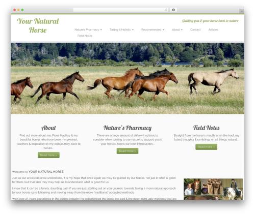 Customizr WP template - your-natural-horse.com