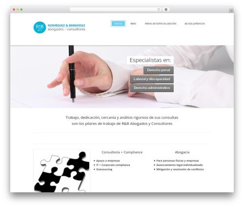 Jewel Business WordPress WordPress template - rbac.es