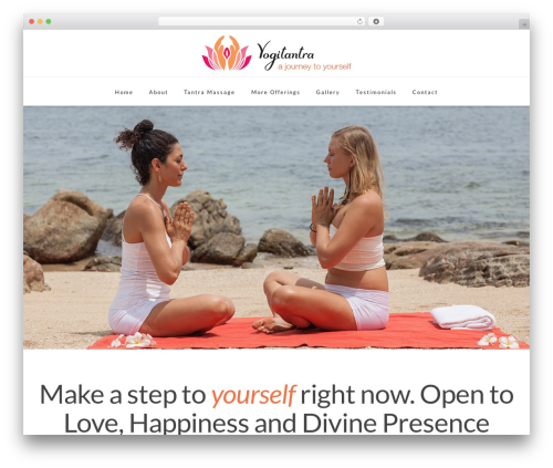 Theme WordPress X - yogitantra.com