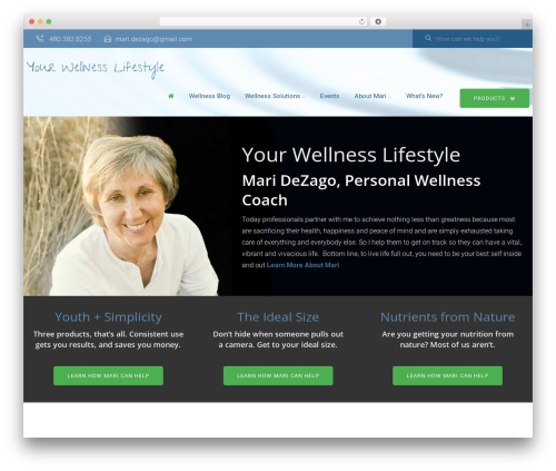 vrukshagra best WordPress theme - yourwellnesslifestyle.com