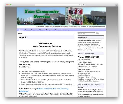 WordPress theme Aspen - yelmcommunityservices.com