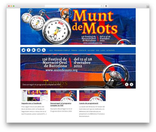 Yasmin theme WordPress - muntdemots.org