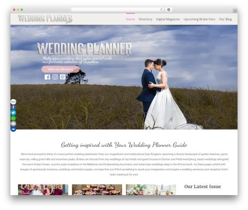Free WordPress Essential Addons for Elementor plugin - yourweddingplannerguide.co.za