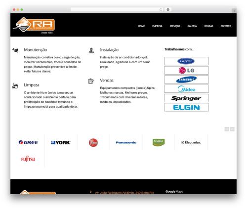 Nuzi best WordPress template by ThemeWaves