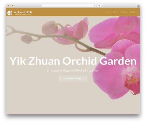 Light Dose landscaping WordPress theme - yikzhuanorchid.com