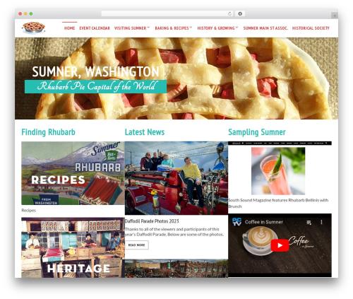 Live Portfolio personal blog example - rhubarbpiecapital.com